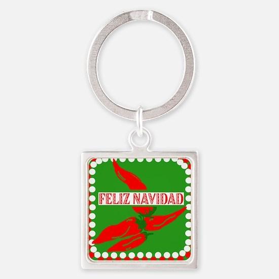 Feliz Navidad Peppers Keychains