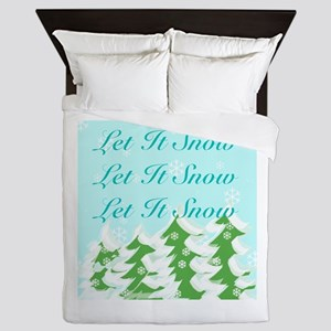 Let It Snow Let It Snow Let It Snow Queen Duvet