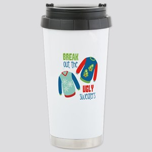 Break out the sweaters Travel Mug