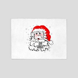 Got Santa? 5'x7'Area Rug