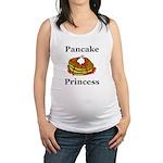 Pancake Princess Maternity Tank Top