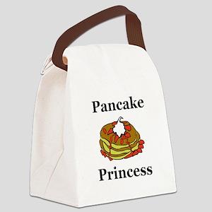 Pancake Princess Canvas Lunch Bag