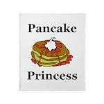 Pancake Princess Throw Blanket