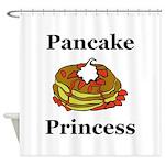 Pancake Princess Shower Curtain