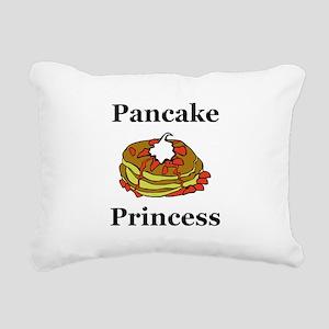 Pancake Princess Rectangular Canvas Pillow