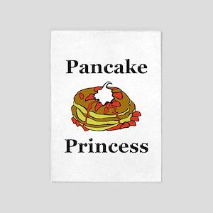 Pancake Princess 5'x7'Area Rug