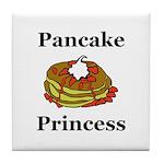 Pancake Princess Tile Coaster
