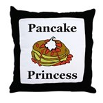 Pancake Princess Throw Pillow