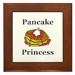 Pancake Princess Framed Tile
