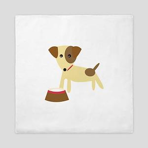 Dog & Bowl Queen Duvet