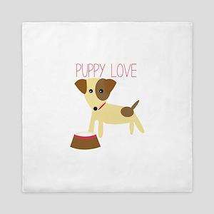 Puppy Love Queen Duvet