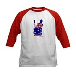 Kids Baseball - Lee Coulter Aussie Logo