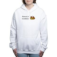 Pancake Goddess Women's Hooded Sweatshirt