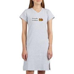 Pancake Goddess Women's Nightshirt