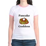 Pancake Goddess Jr. Ringer T-Shirt