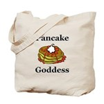 Pancake Goddess Tote Bag