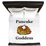 Pancake Goddess King Duvet