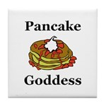 Pancake Goddess Tile Coaster