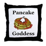 Pancake Goddess Throw Pillow