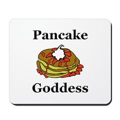 Pancake Goddess Mousepad
