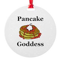 Pancake Goddess Ornament