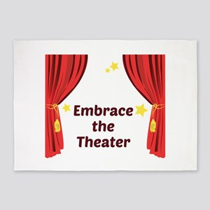 Embrace The Theater 5'x7'Area Rug