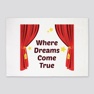 Dreams Come True 5'x7'Area Rug