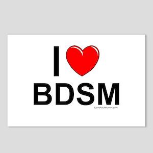 BDSM Postcards (Package of 8)