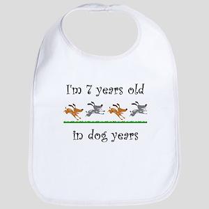 1 dog birthday 1 Bib