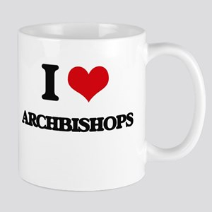 I Love Archbishops Mugs