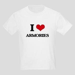 I Love Armories T-Shirt