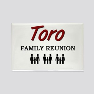 Toro Family Reunion Rectangle Magnet
