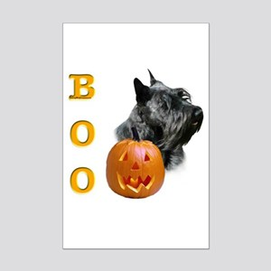 Scotty(blk) Boo Mini Poster Print
