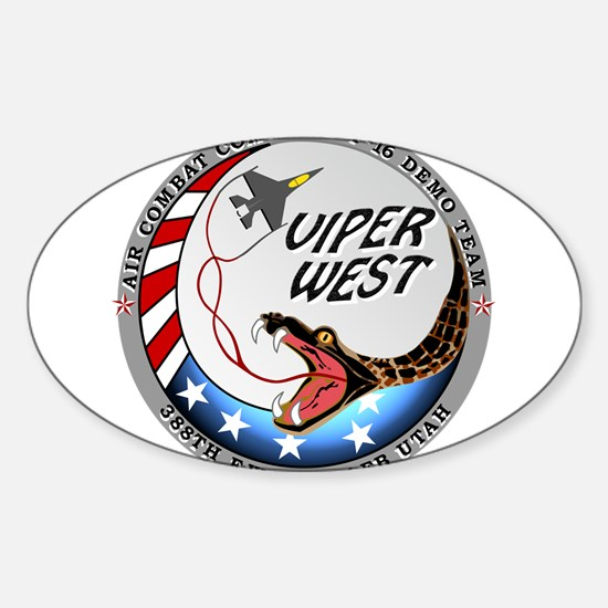 air force west demo team pa Decal