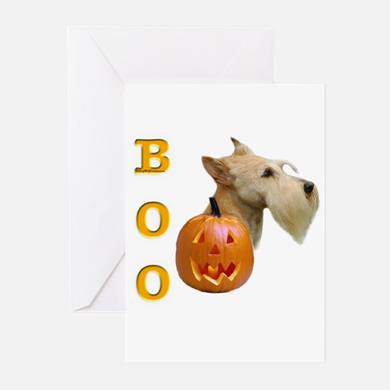 Scotty(wht) Boo Greeting Cards (Pk of 10)