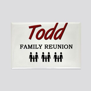 Todd Family Reunion Rectangle Magnet