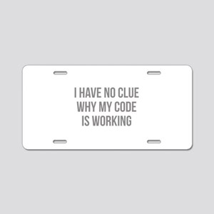 I Have No Clue Why My Code Is Working Aluminum Lic