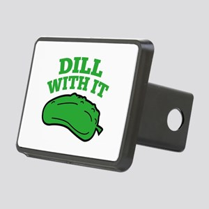 Dill With It Rectangular Hitch Cover