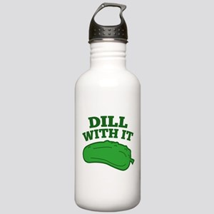 Dill With It Stainless Water Bottle 1.0L