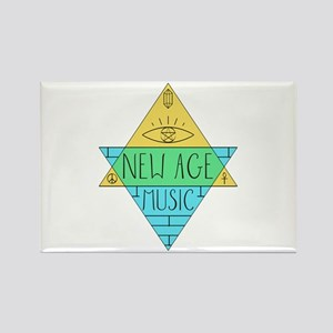 New Age Music Magnets