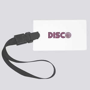 Disco Luggage Tag