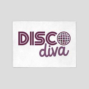 Disco Diva 5'x7'Area Rug