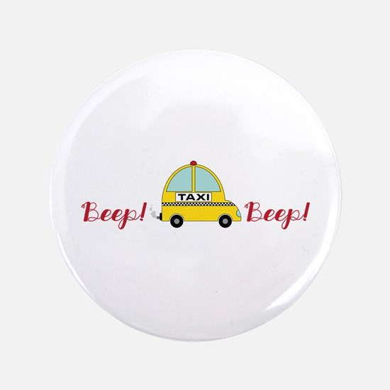 "Honking Taxi 3.5"" Button"