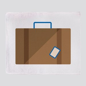 Suitcase Throw Blanket