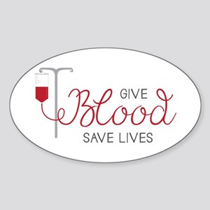Give Blood Sticker