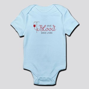 Give Blood Body Suit