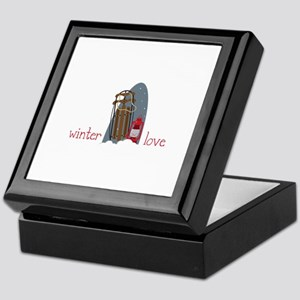 Winter Love Keepsake Box