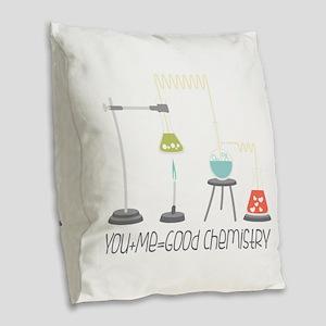 Good Chemistry Burlap Throw Pillow