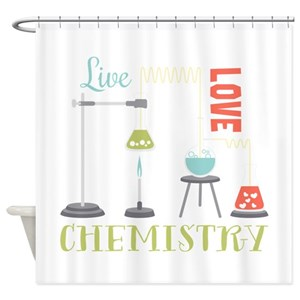 Chemistry Shower Curtains