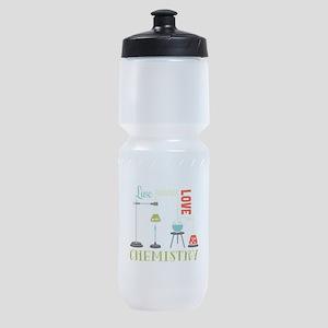 Love Chemistry Sports Bottle